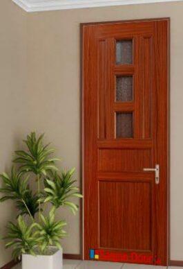 Cửa thép vân gỗ chất lượng và thẩm mỹ