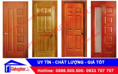 Báo giá các mẫu cửa gỗ công nghiệp dùng làm cửa phòng ngủ cao cấp